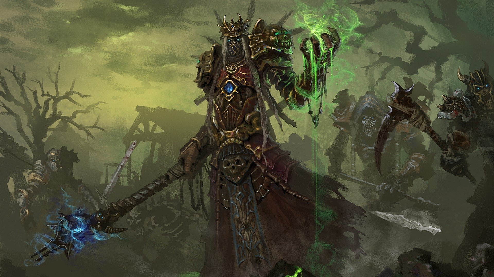 Fantasy Art Necromancers Wallpapers Hd Desktop And: World Of Warcraft Full HD Fond D'écran And Arrière-Plan