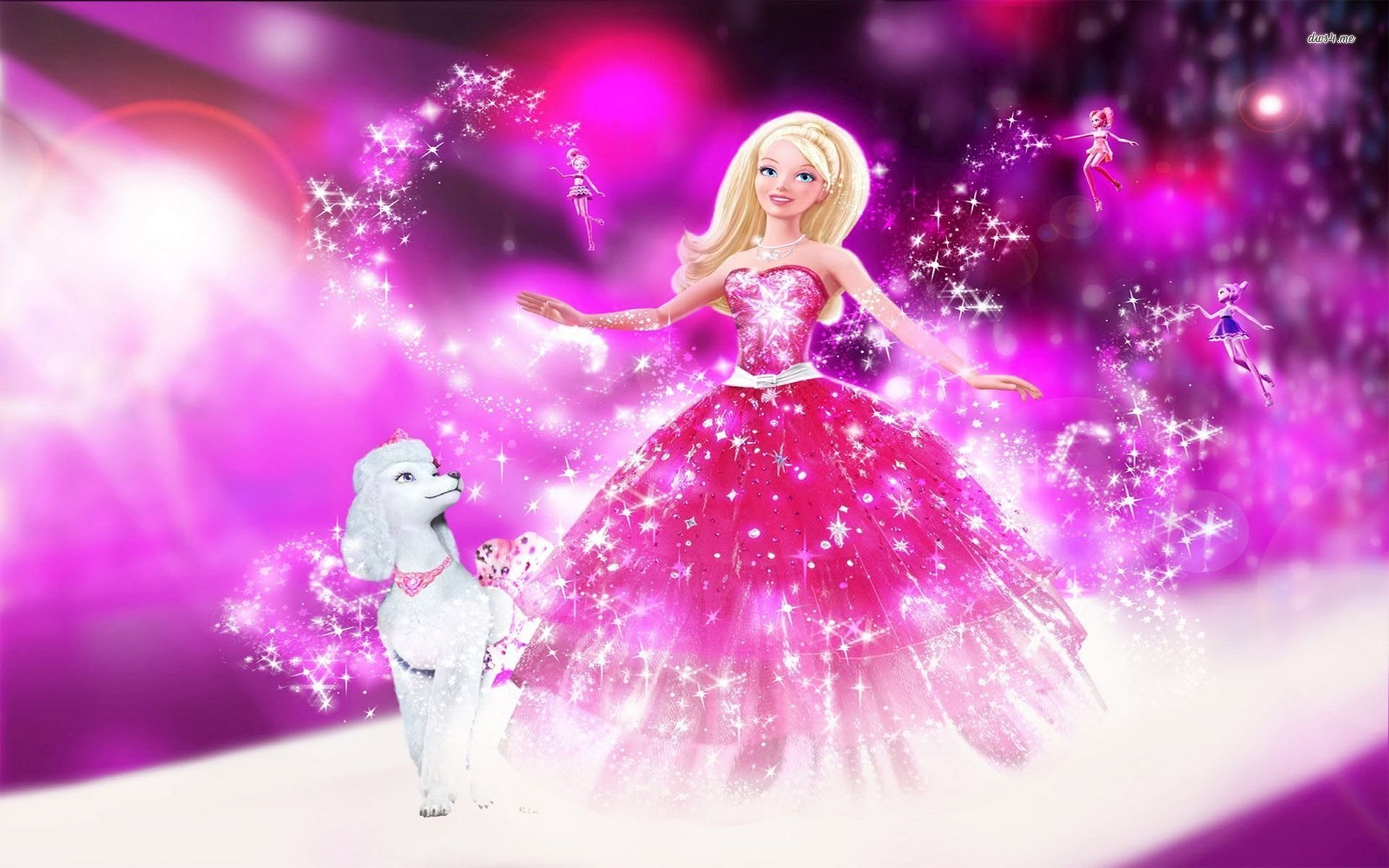 3 barbie the diamond castle hd wallpapers background images hd wallpaper background image id526582 voltagebd Images