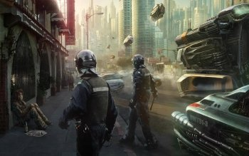 Sci Fi - City Wallpapers and Backgrounds ID : 526294