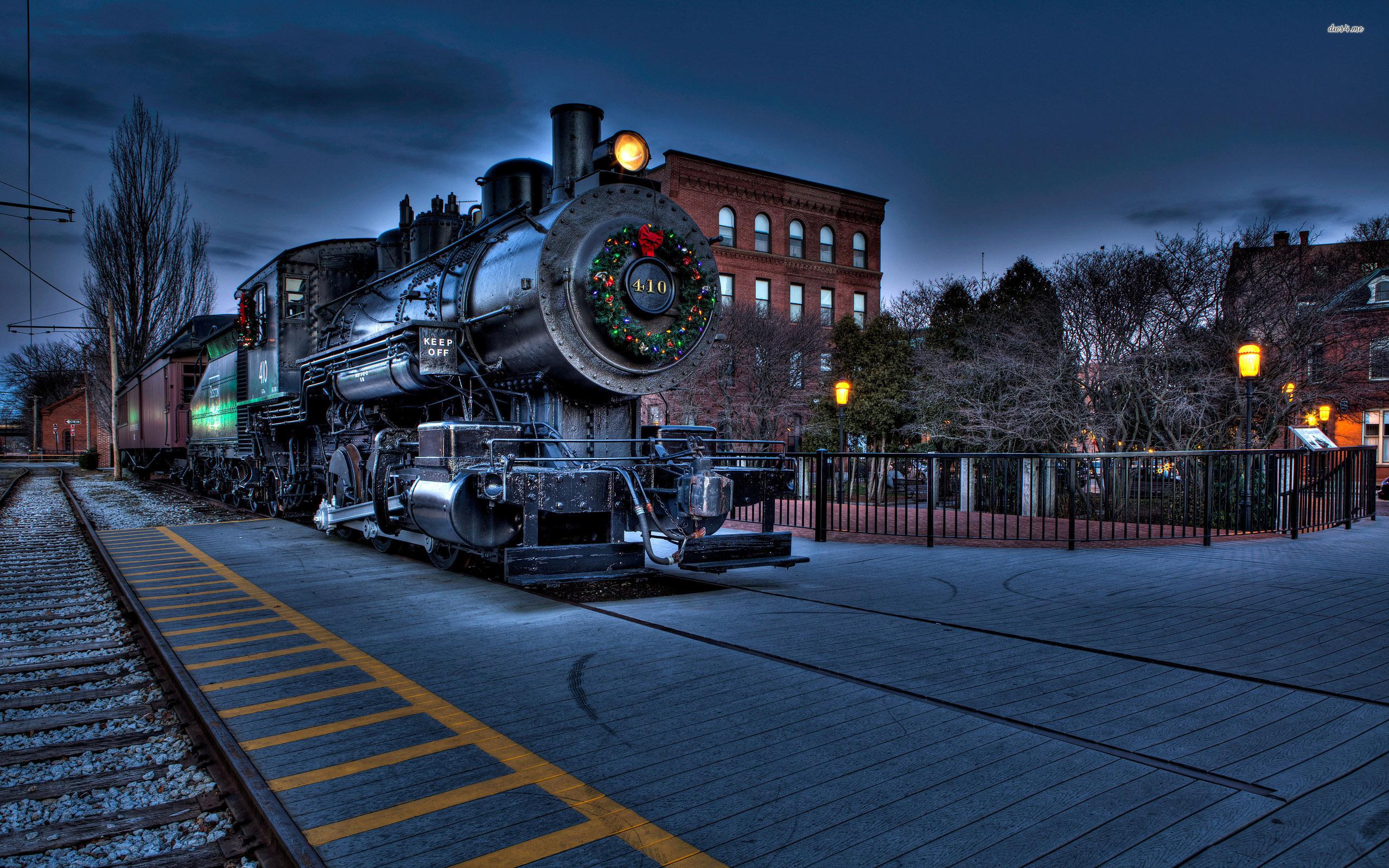 Steam Train Hd Duvar Kağıdı Arka Plan 2560x1600 Id527016