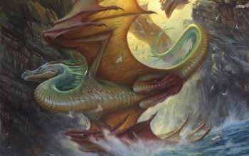 Fantasy - Dragon Wallpapers and Backgrounds ID : 527917