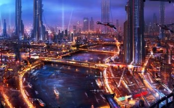 Sci Fi - City Wallpapers and Backgrounds ID : 528303