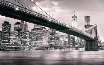 Man Made - Brooklyn Bridge Wallpapers and Backgrounds ID : 529690