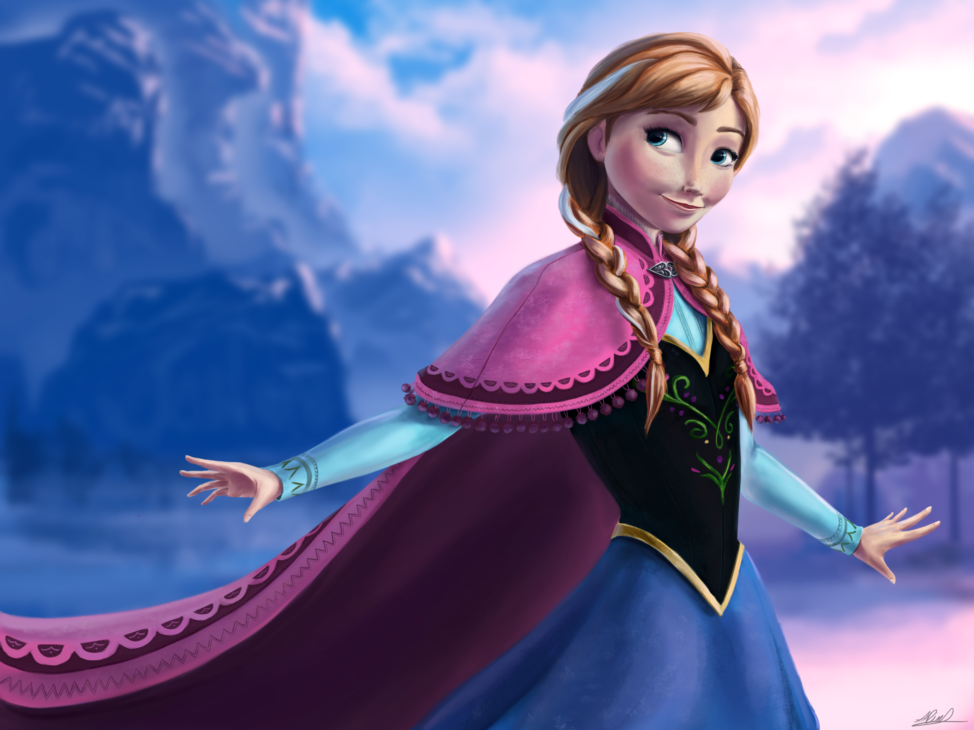 Movie - Frozen Anna Frozen Wallpaper Frozen Wallpaper Hd Anna