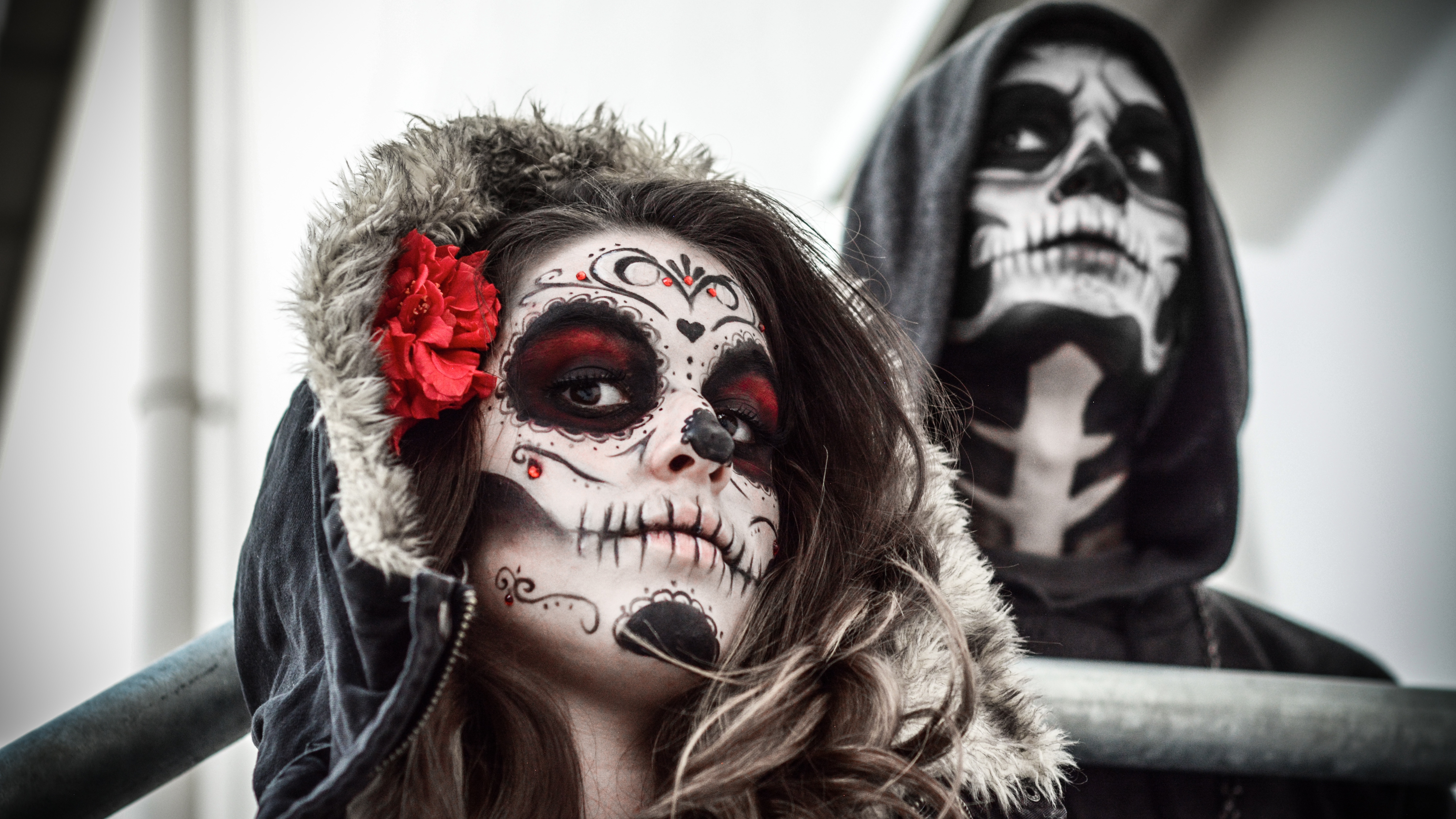 Sugar Skull 5k Retina Ultra HD Wallpaper And Background Image