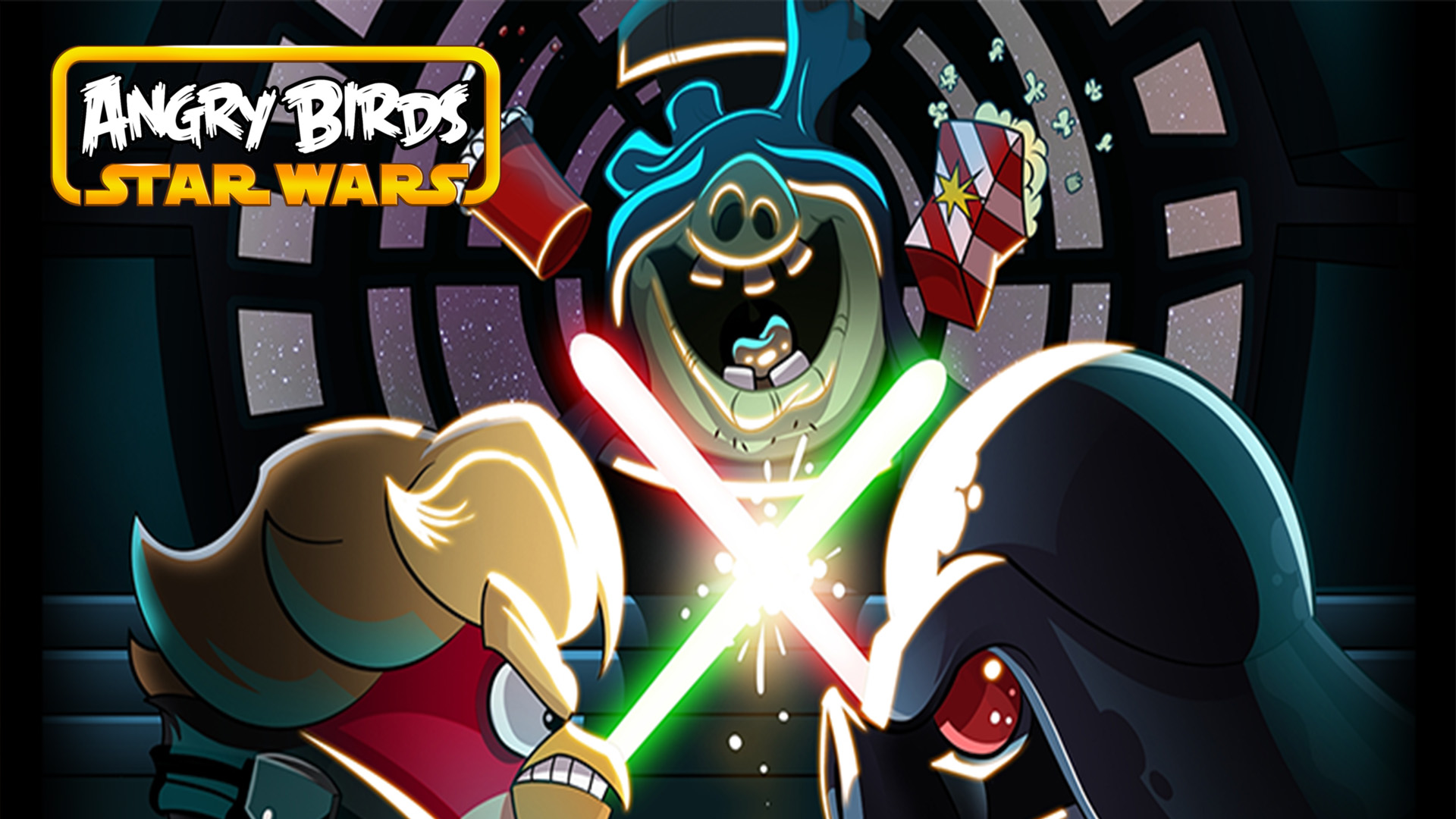Angry birds star wars fond d 39 cran hd arri re plan 1920x1080 id 530925 wallpaper abyss - Telecharger angry birds star wars ...