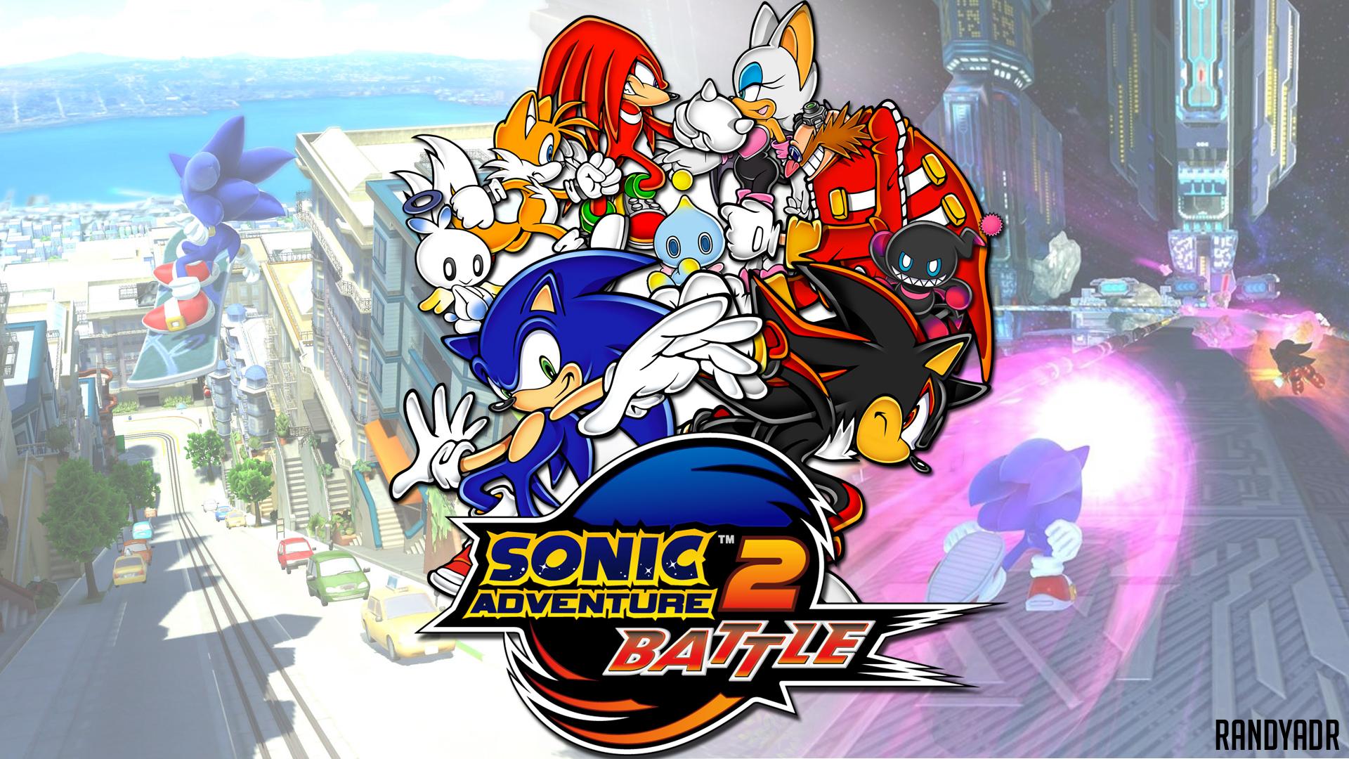 Sonic Adventure 2 Battle Hd Wallpaper Background Image 1920x1080