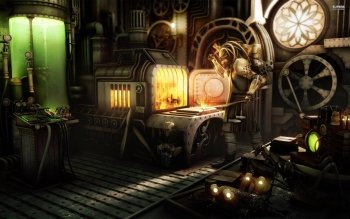 Sci Fi - Steampunk Wallpapers and Backgrounds ID : 530276