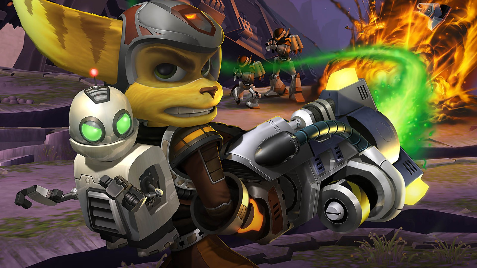 ratchet and clank ps4 iphone wallpaper