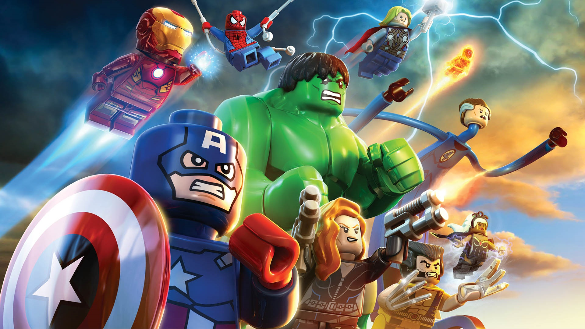 LEGO Marvel Super Heroes Full HD Wallpaper And Background