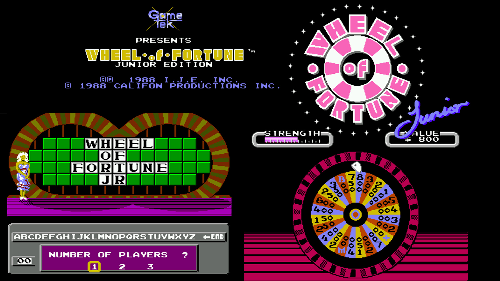 how to create a wheel of fortune game