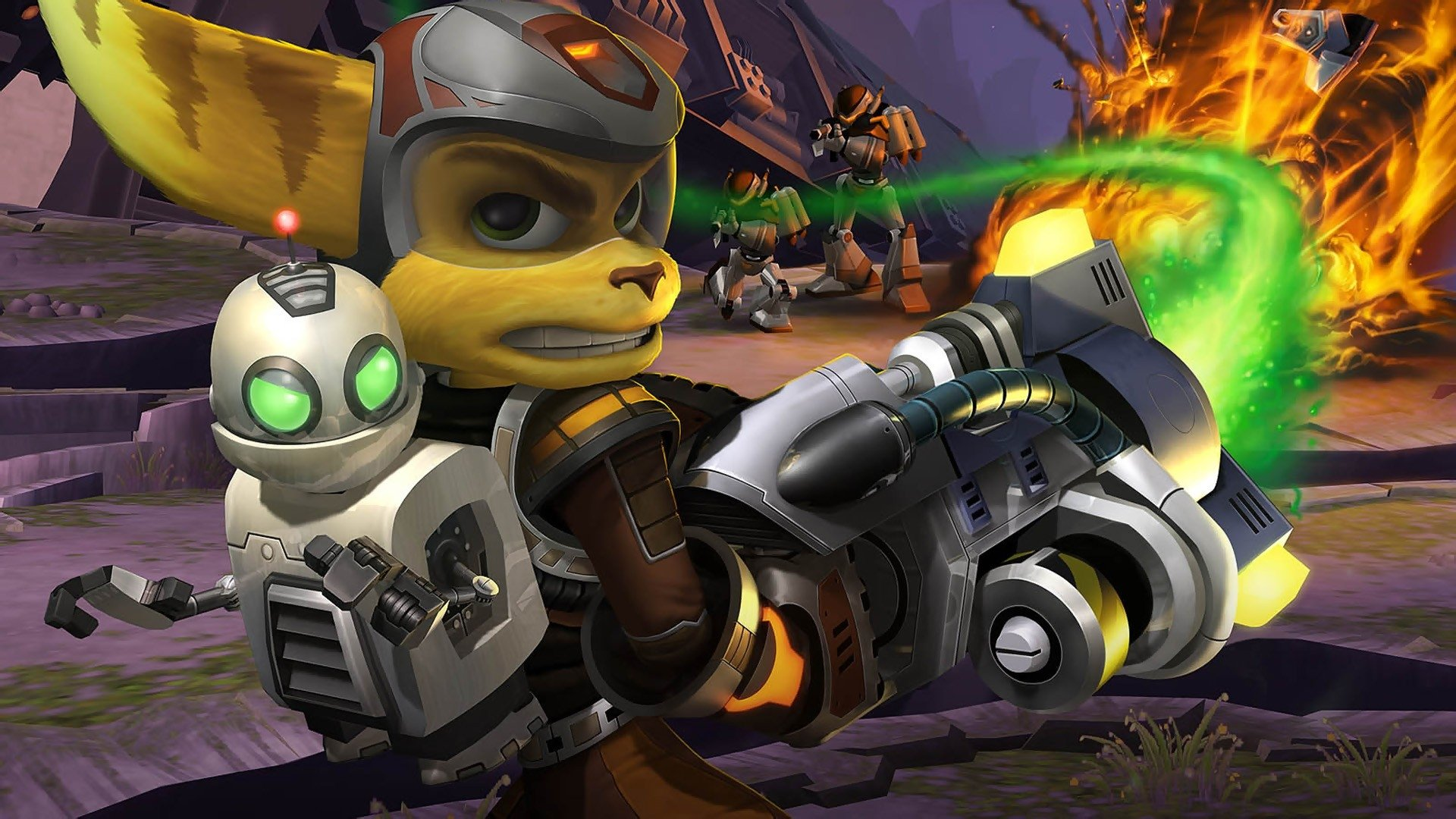 2 Ratchet Clank Up Your Arsenal Hd Wallpapers Background