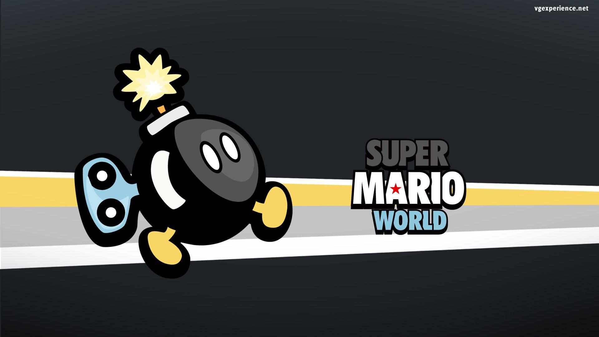 Videojuego - Super Mario World  Bob-omb Fondo de Pantalla