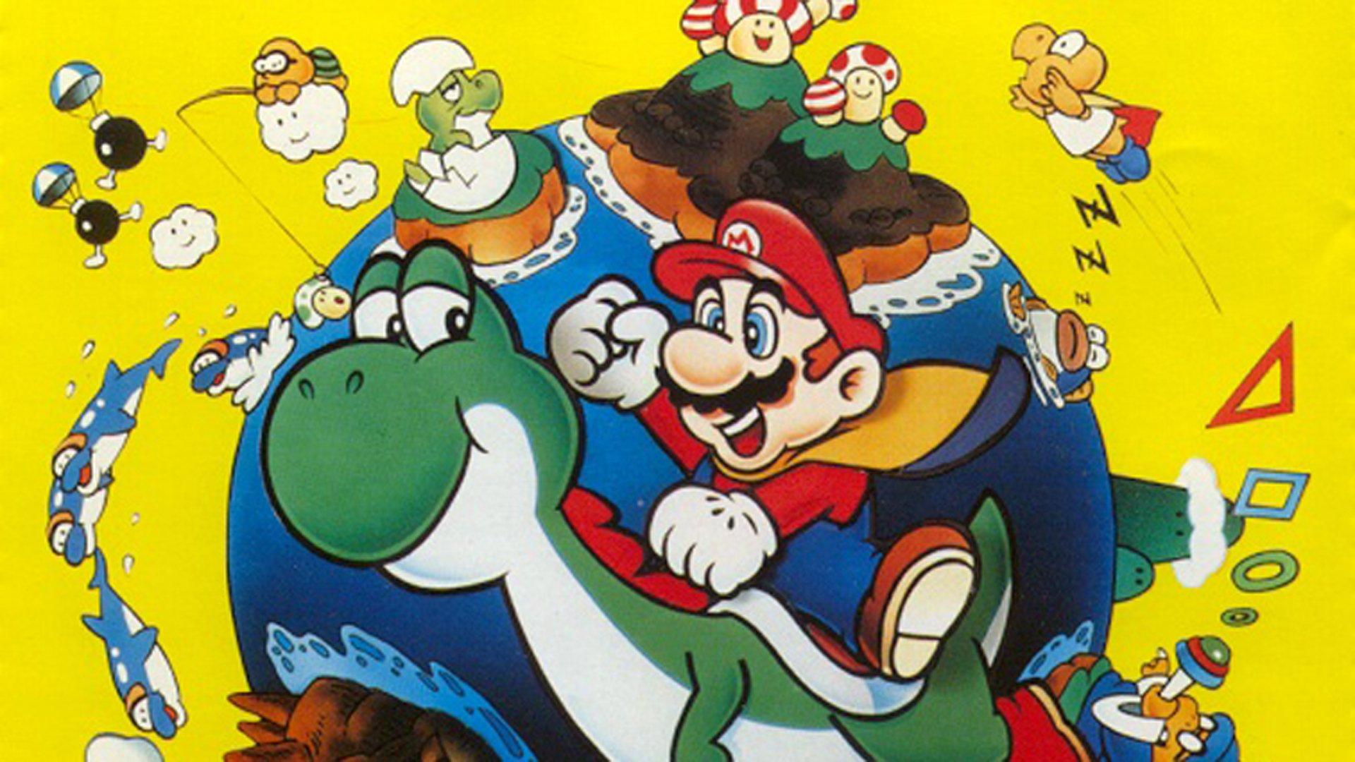 Videojuego - Super Mario World  Yoshi Fondo de Pantalla