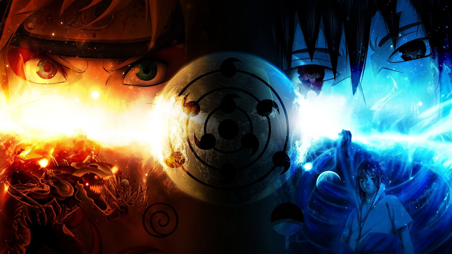 Naruto Sasuke Hd Wallpaper Background Image 1920x1080 Id