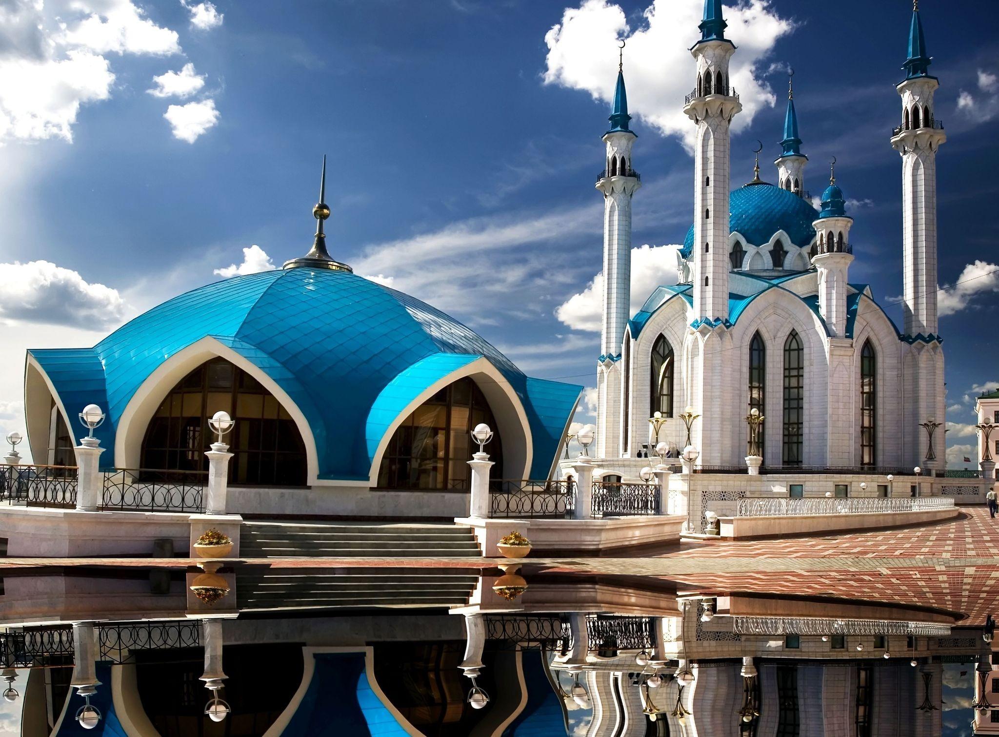 qolsharif mosque kazan russia full hd wallpaper and background