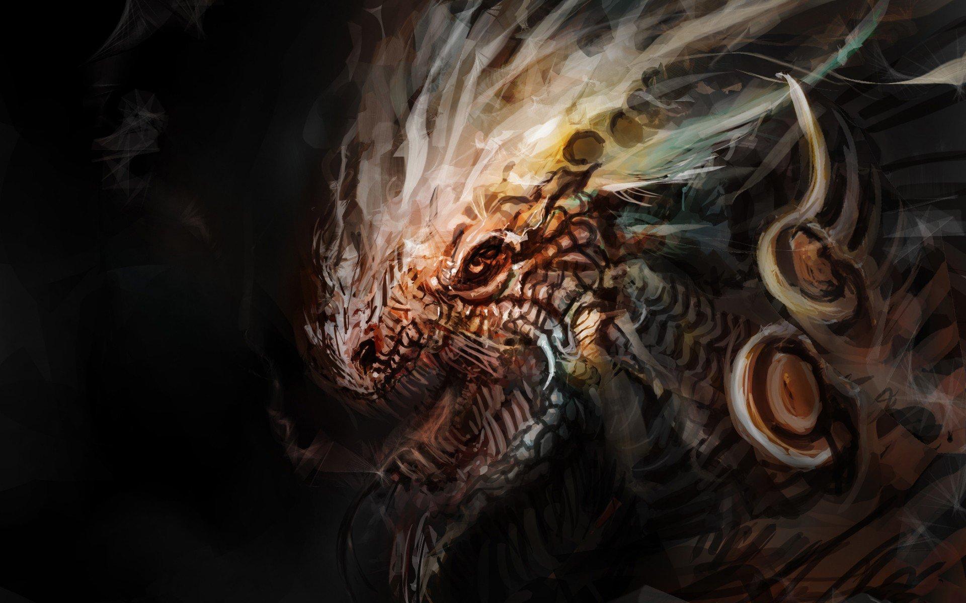 Fantastik - Ejderha  Duvarkağıdı