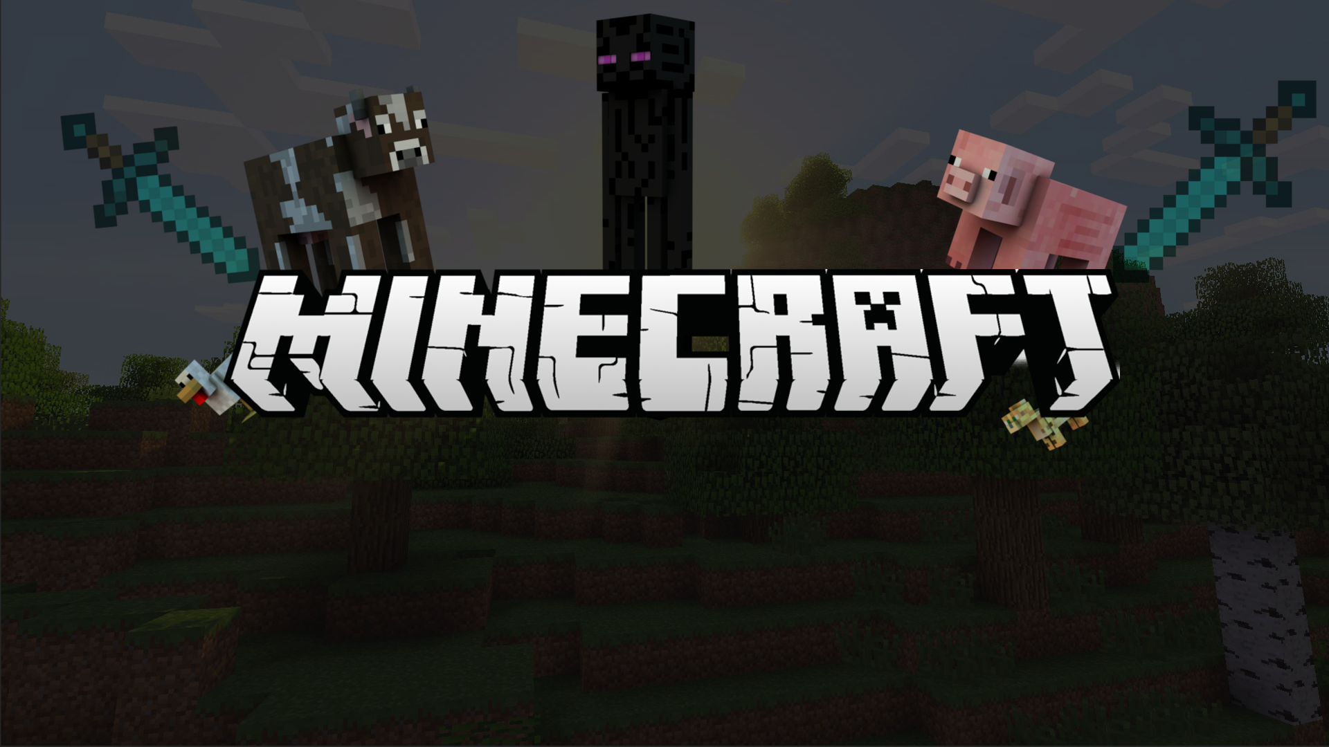 Minecraft Custom Wallpaper HD Wallpaper