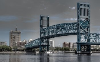 Man Made - Main Street Bridge (Jacksonville) Wallpapers and Backgrounds ID : 534617