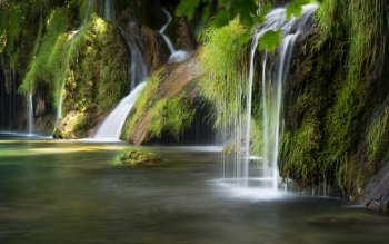 Erde - Wasserfall Wallpapers and Backgrounds ID : 534898