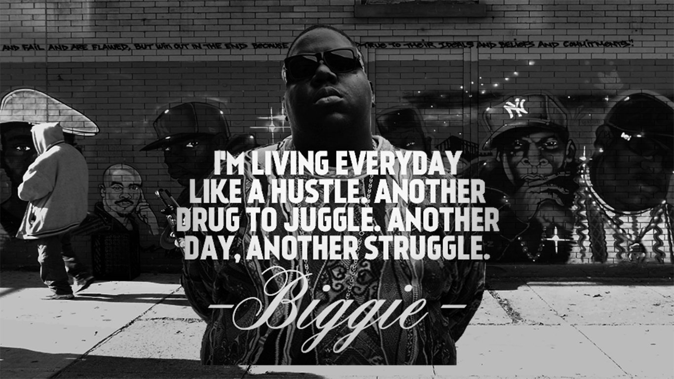 Biggie Smalls Everyday Struggle Wallpaper And Background