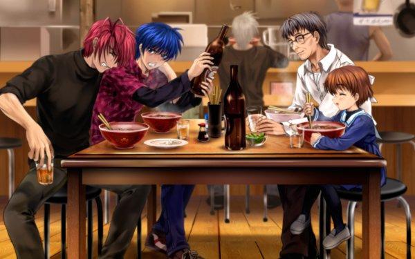 Anime Clannad Ushio Okazaki Akio Furukawa Tomoya Okazaki Naoyuki Okazaki HD Wallpaper | Background Image