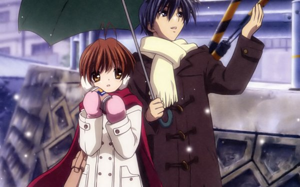 Anime Clannad Nagisa Furukawa Tomoya Okazaki HD Wallpaper   Background Image