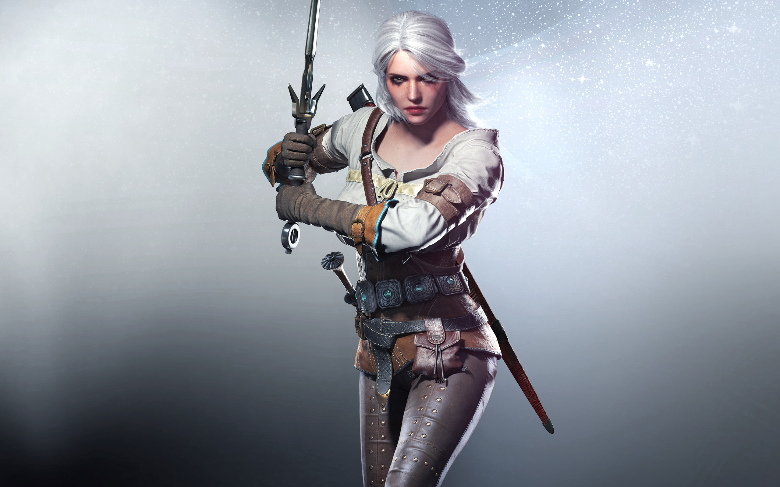 137 Ciri The Witcher Hd Wallpapers Background Images