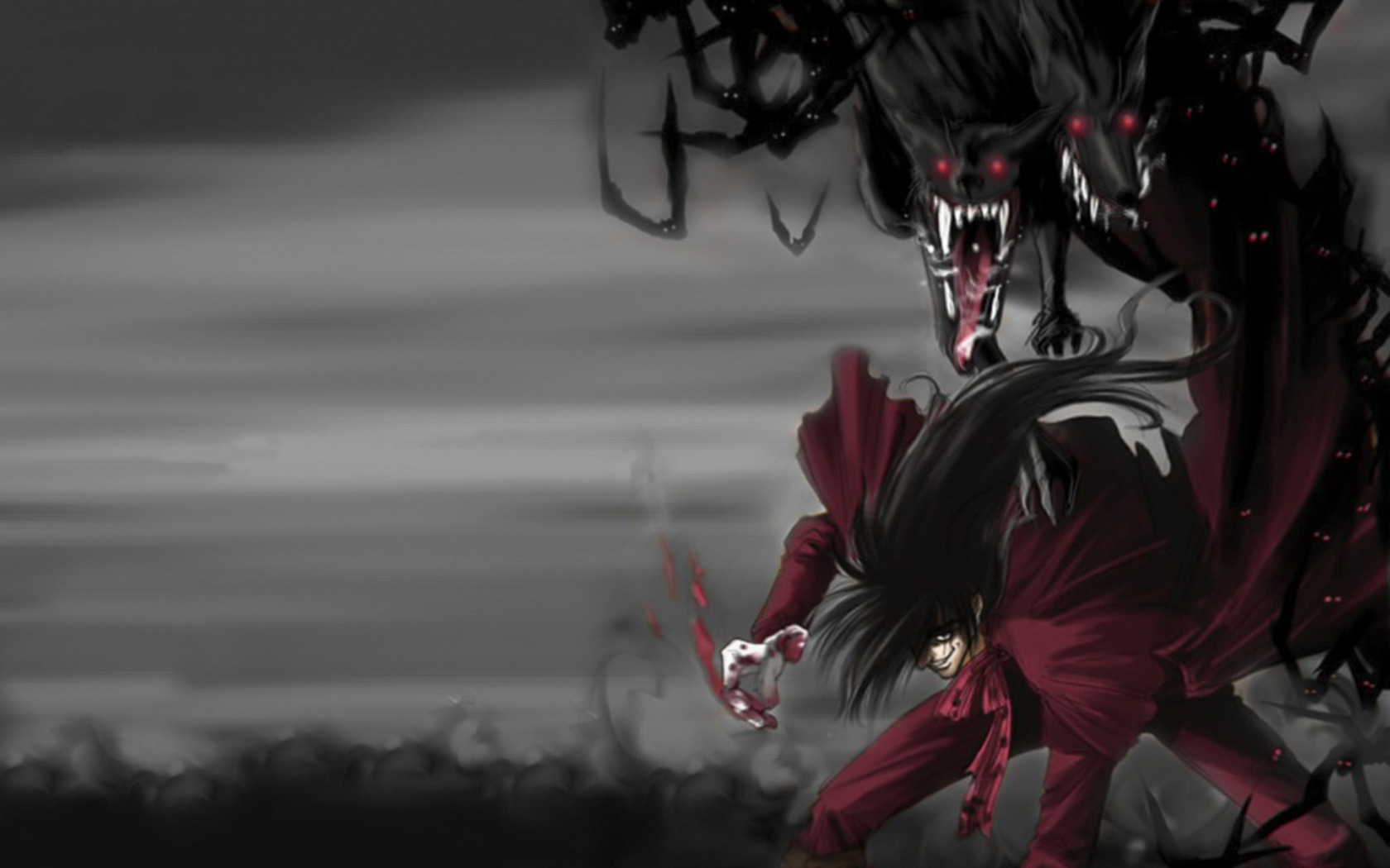 Hellsing wallpaper and background 1680x1050 id 537738 - Anime hellsing wallpaper ...