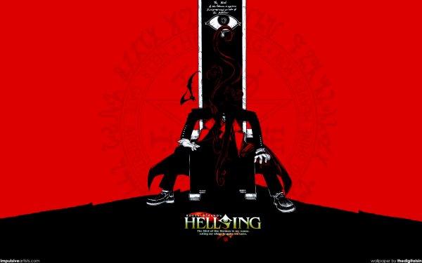 Anime Hellsing Alucard Fond d'écran HD | Arrière-Plan
