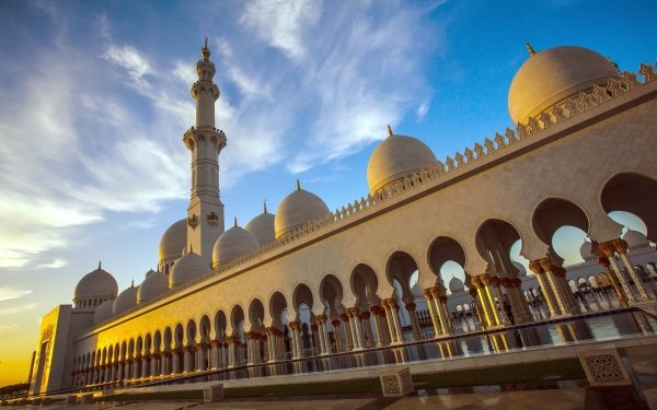 Religious Sheikh Zayed Grand Mosque Mosques Abu Dhabi HD Wallpaper | Background Image