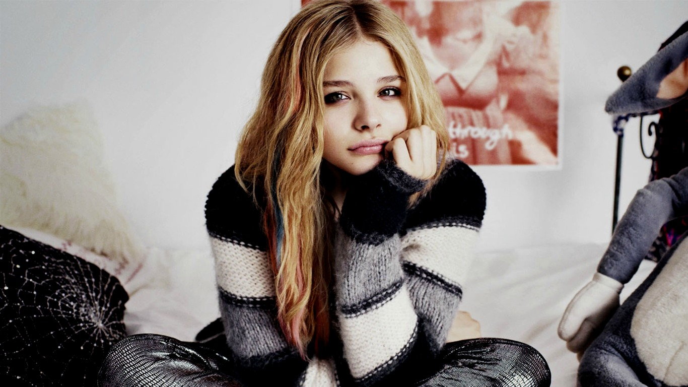 510 chloë grace moretz hd wallpapers | background images - wallpaper