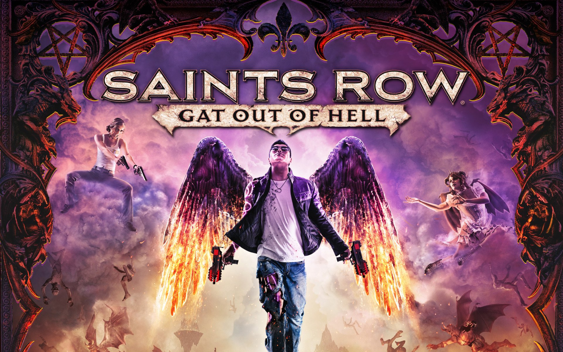 Saints Row Gat Out Of Hell HD Wallpaper