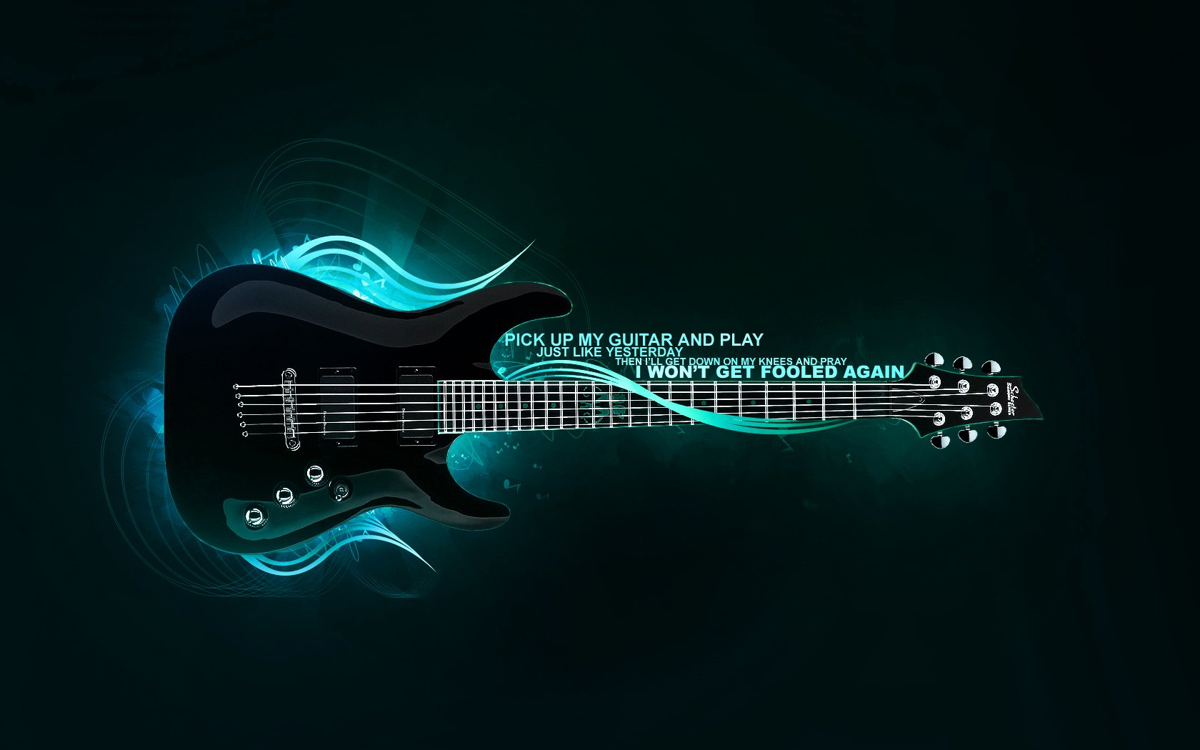 HD Wallpaper | Background Image ID:53920. 1680x1050 Music Guitar