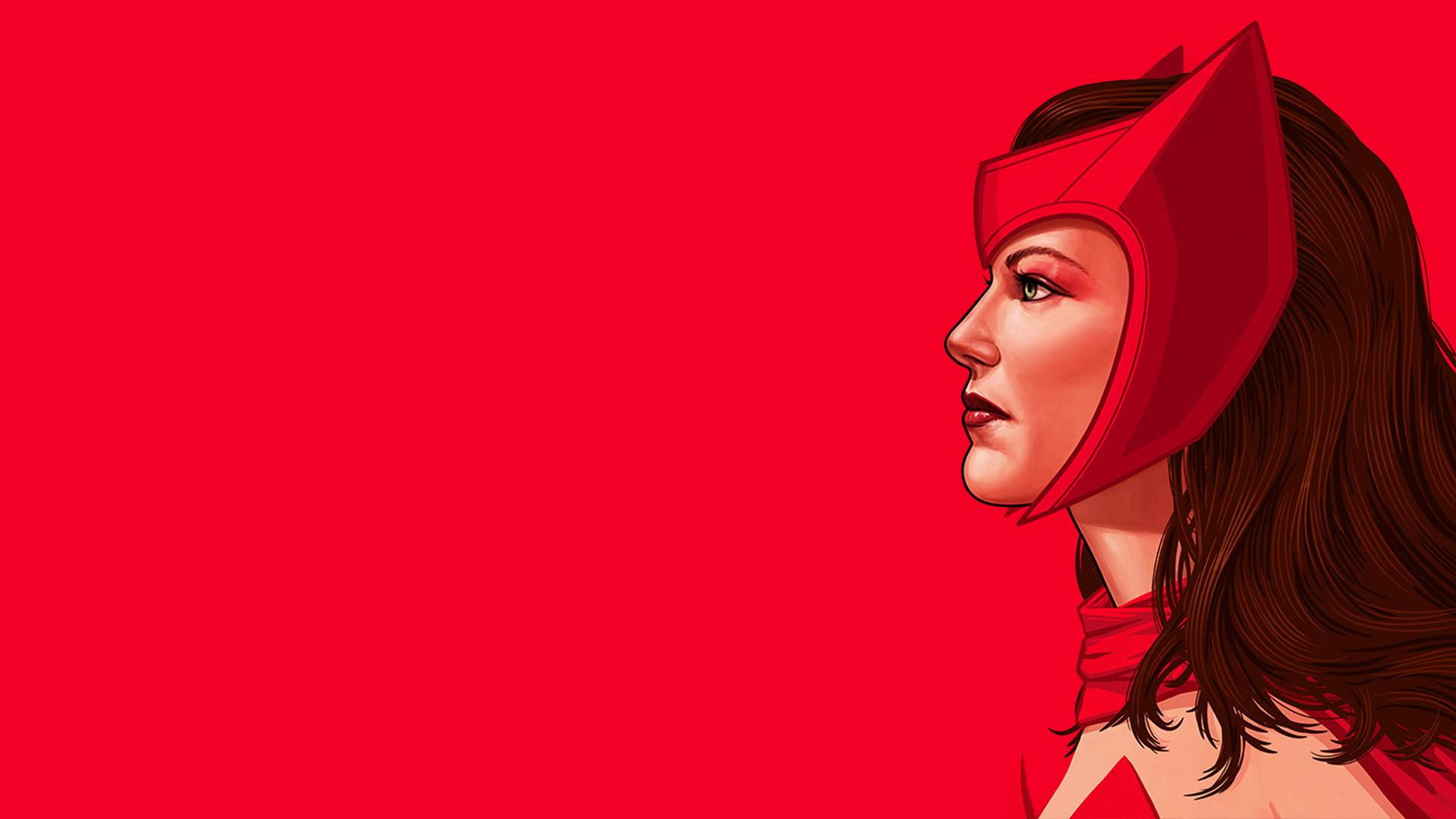 Scarlet Witch Full HD Wallpaper And Background Image