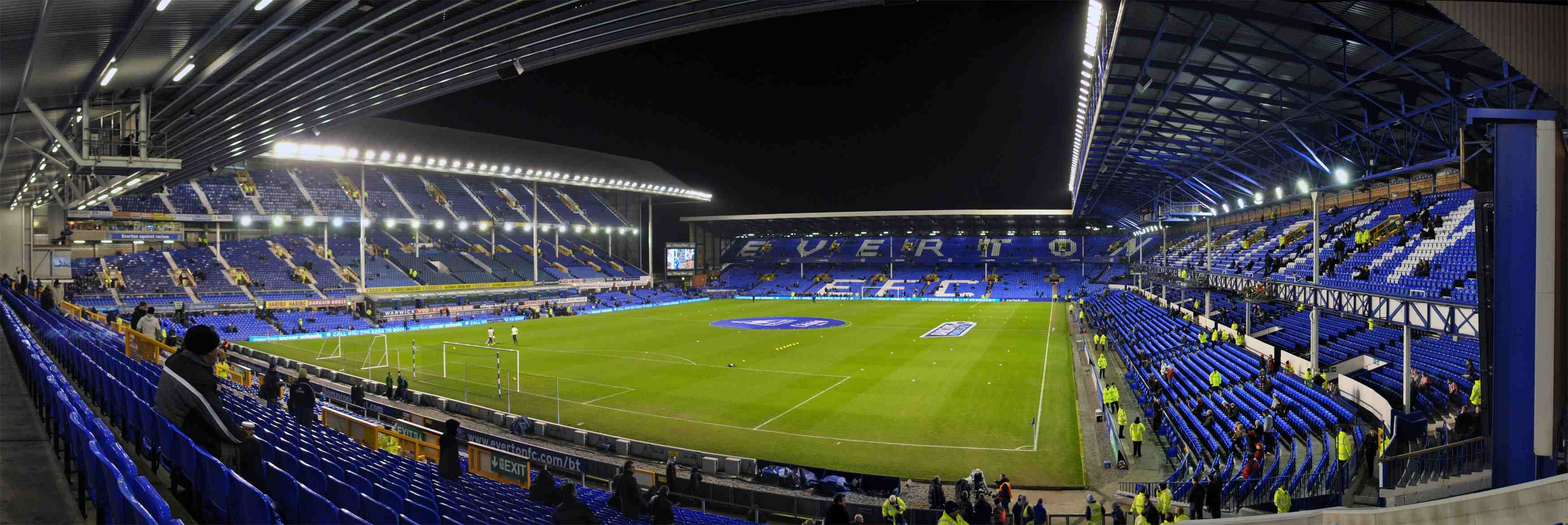 Goodison Park Hd Wallpaper Background Image 3500x1172 Id 541138 Wallpaper Abyss