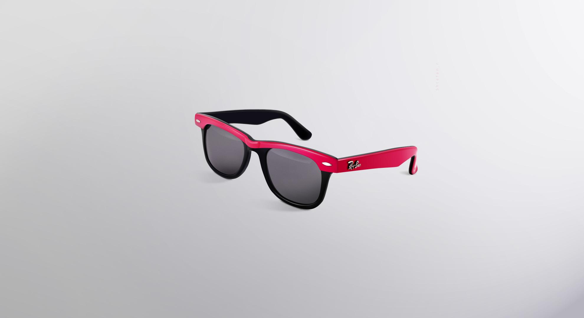 pink sunglasses hd wallpaper