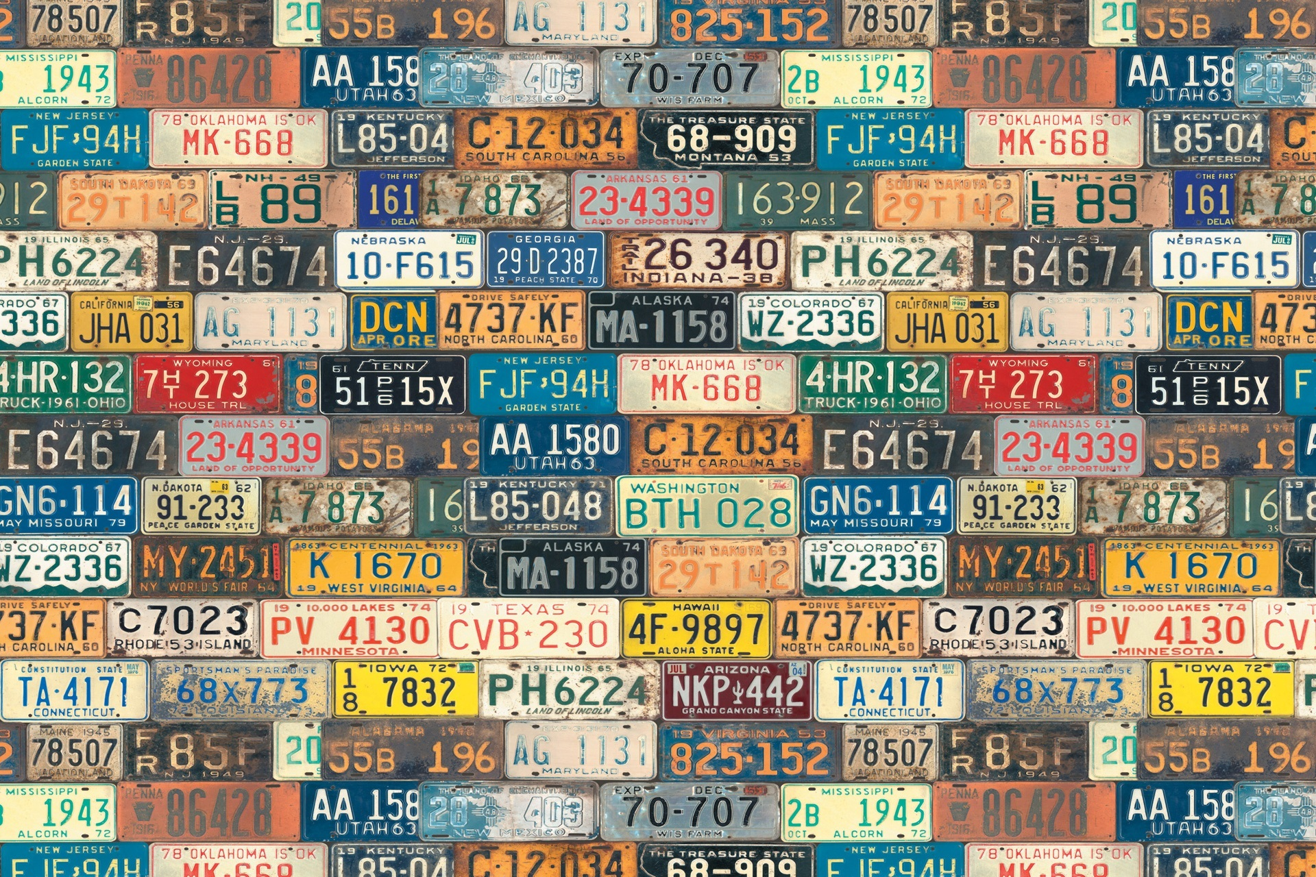 Registration Plates Full HD Wallpaper And Background Image