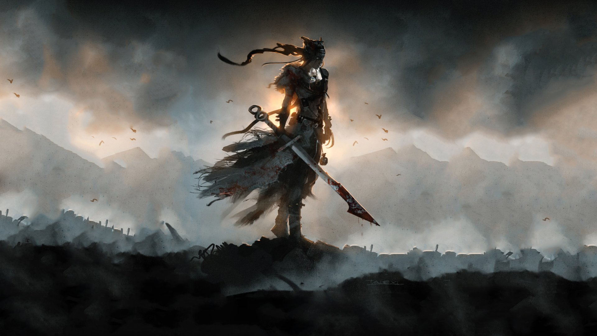 63 Hellblade Senua S Sacrifice Hd Wallpapers Background Images