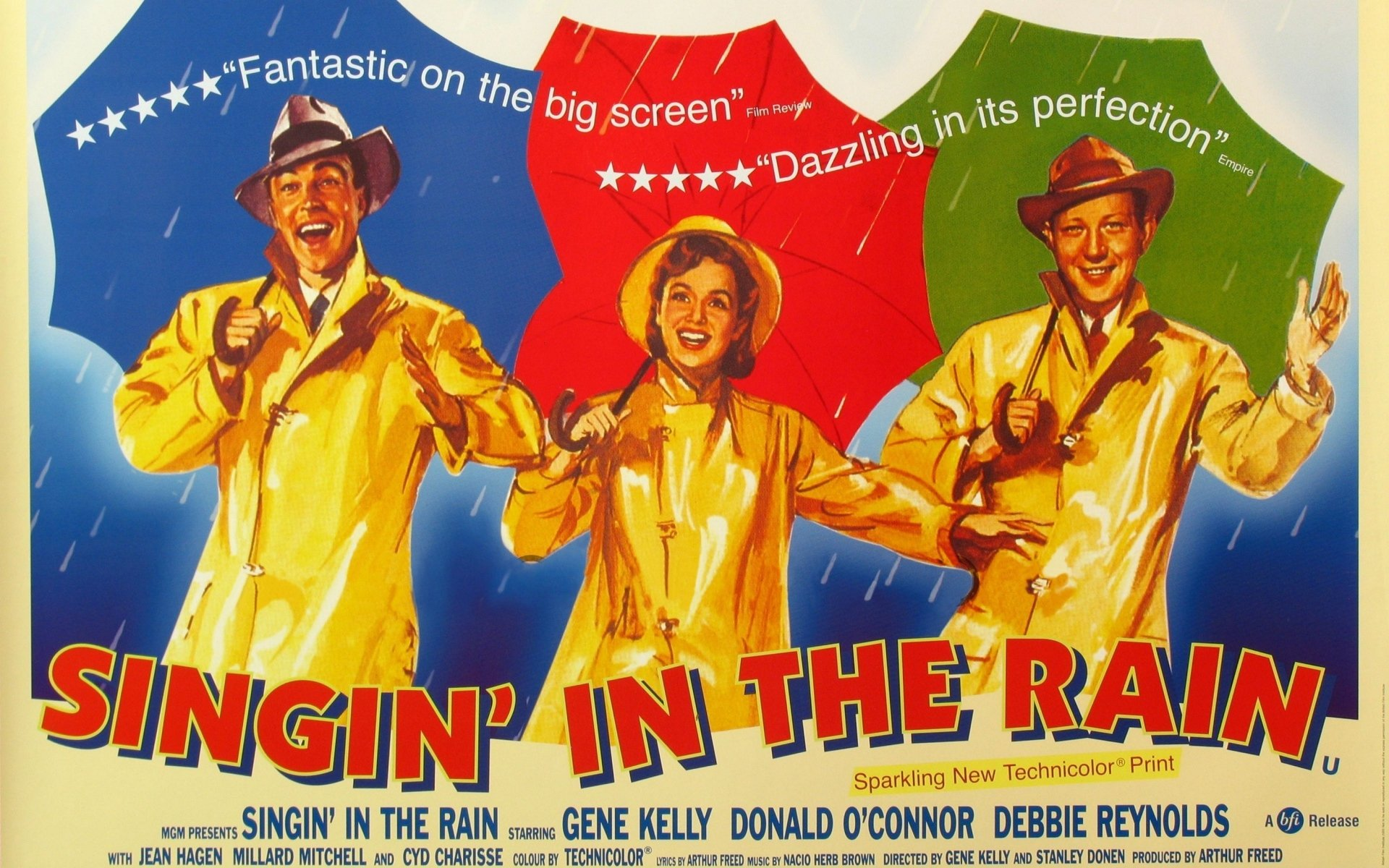 Image result for singin in the rain hd poster