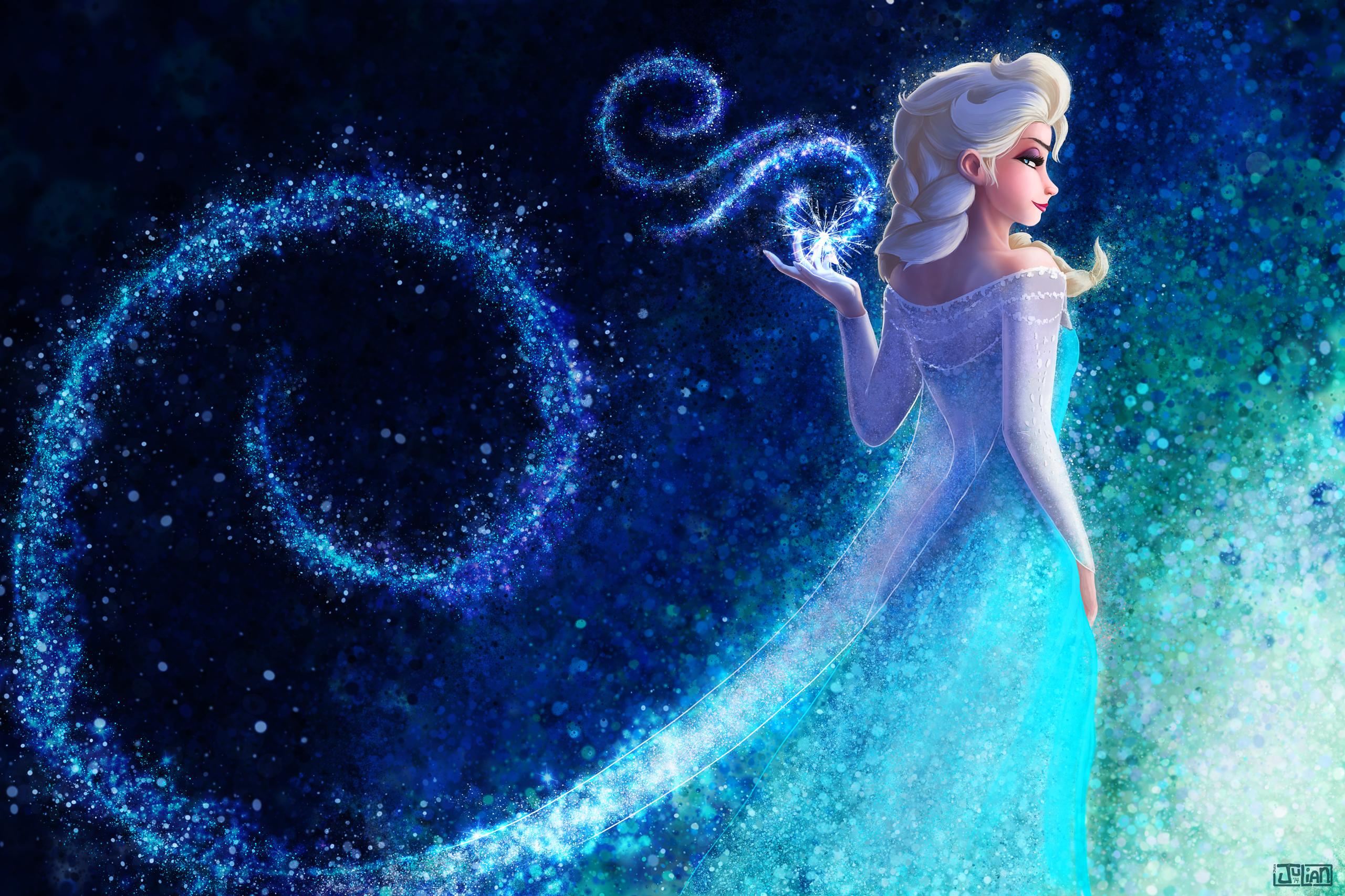 Elsa-5 By JoeyJulian Full HD Fond d'écran and Arrière-plan