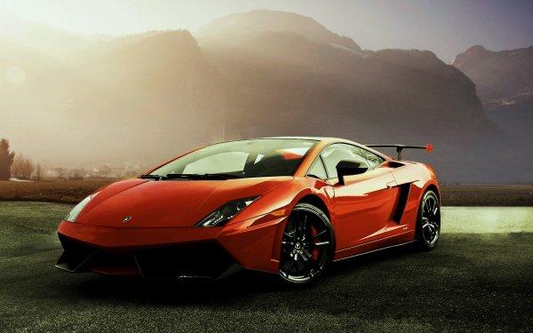 Vehicles Lamborghini Gallardo Lamborghini Car Red Car Sport Car Supercar HD Wallpaper | Background Image