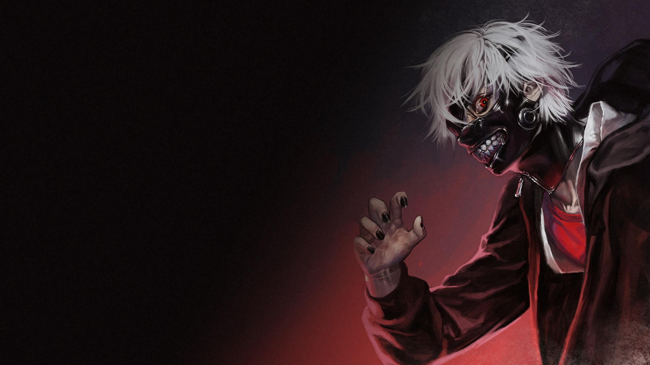 Ken Kaneki Mask Fondo De Pantalla Hd Fondo De Escritorio