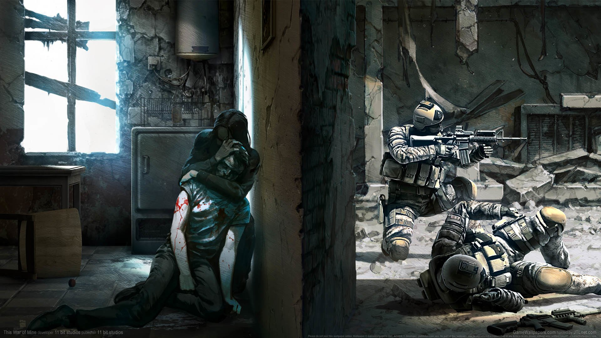 17 This War Of Mine Hd Wallpapers Background Images Wallpaper Abyss