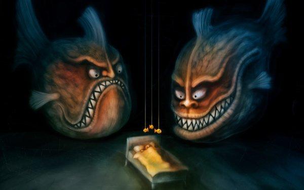 Oscuro Terrorífico Fondo de pantalla HD   Fondo de Escritorio