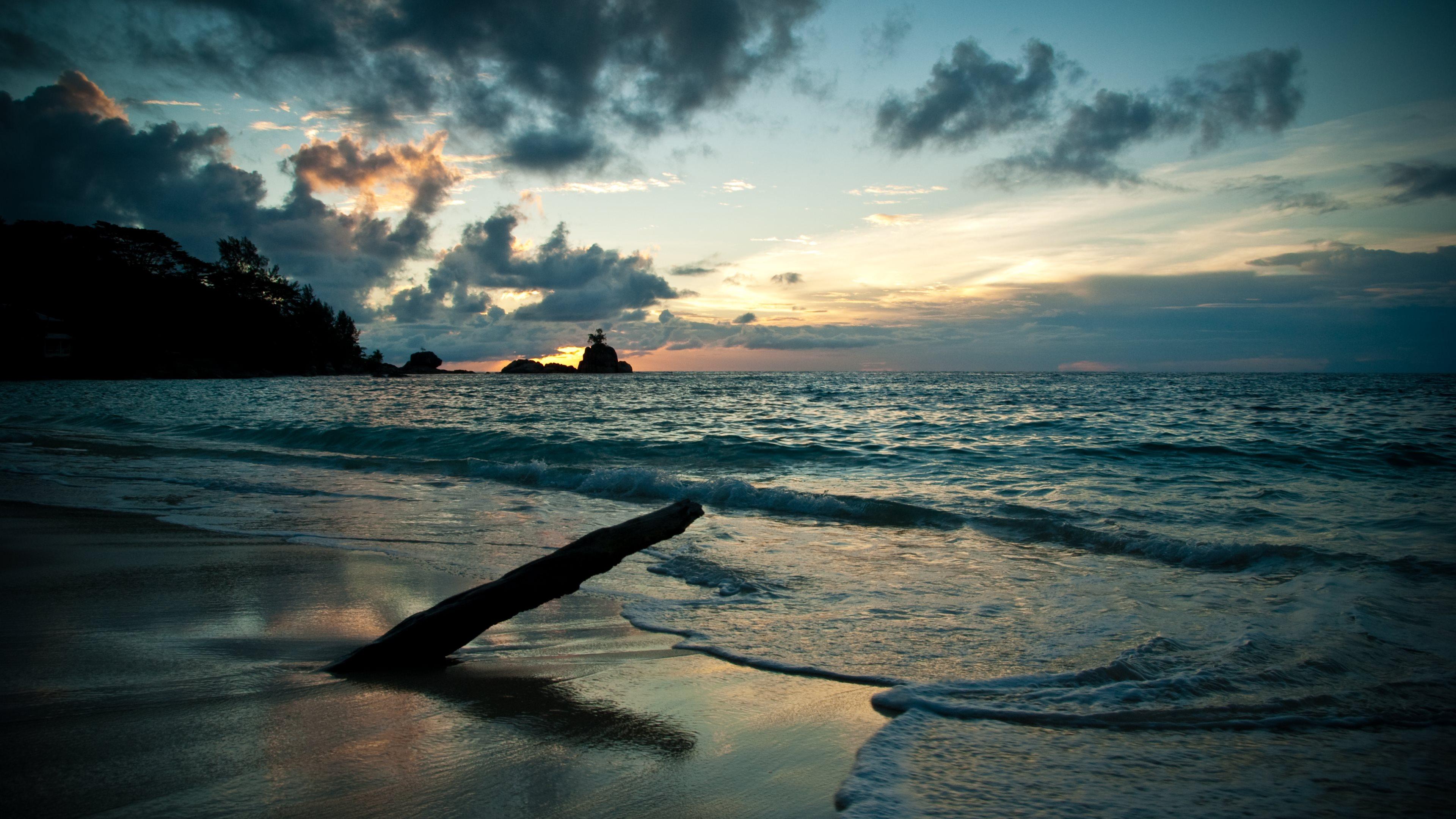 Deniz Manzarası 4k Ultra Hd Duvar Kağıdı Arka Plan 3840x2160