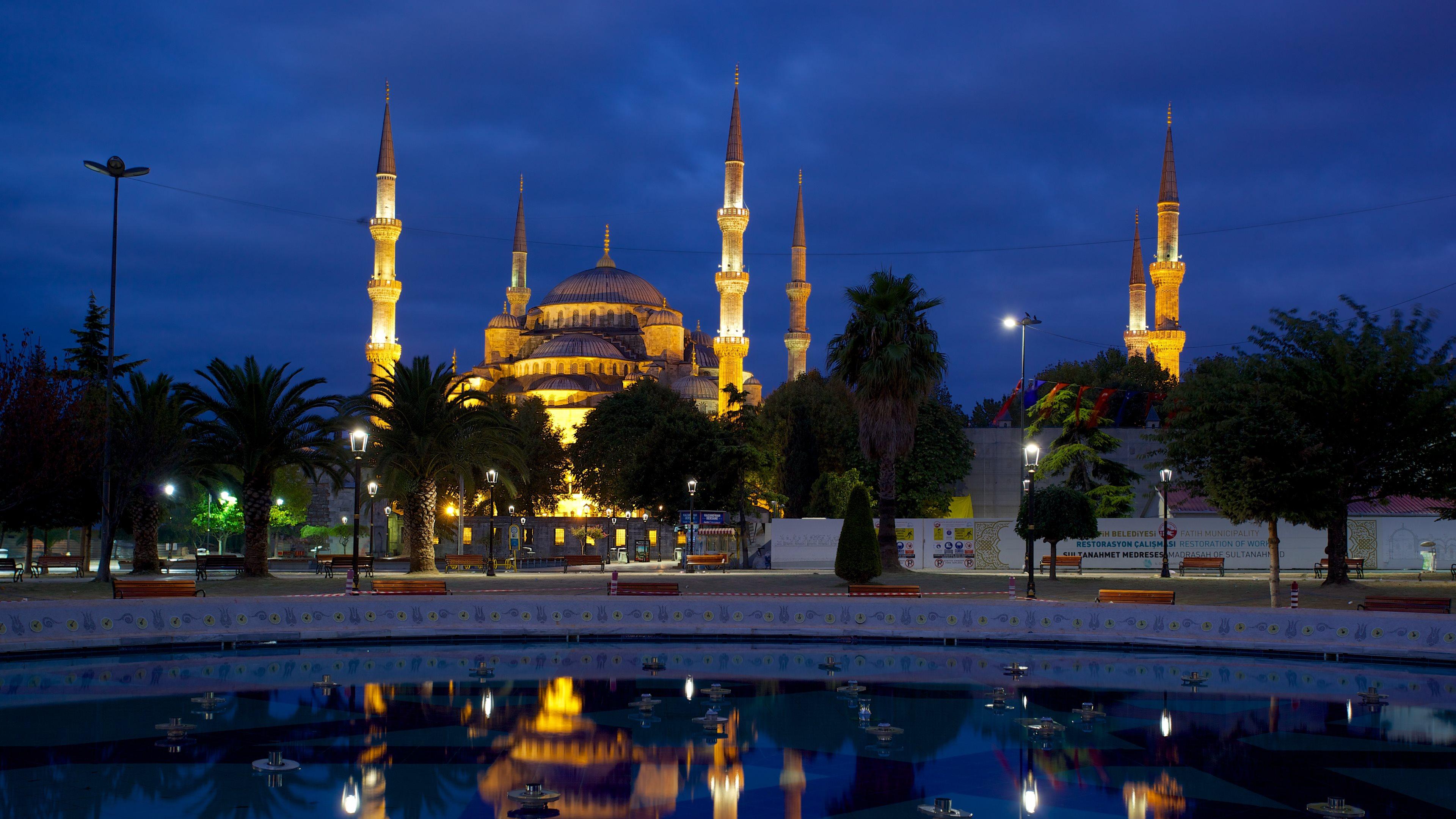 Mosque Fonds d'écran, Arrières-plan   3840x2160   ID:546575