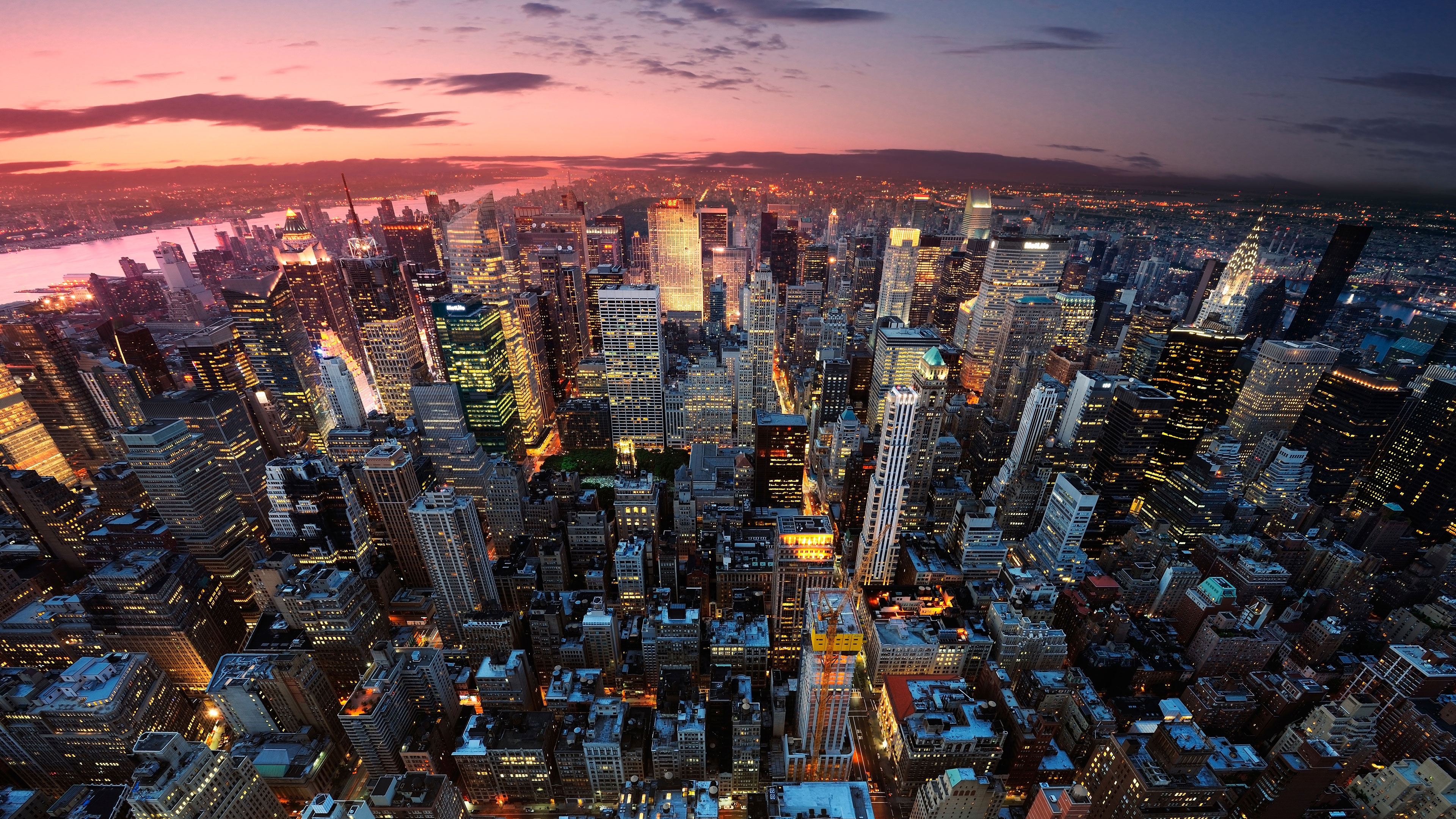 New York 4k Ultra Hd Wallpaper Background Image 3840x2160 Id