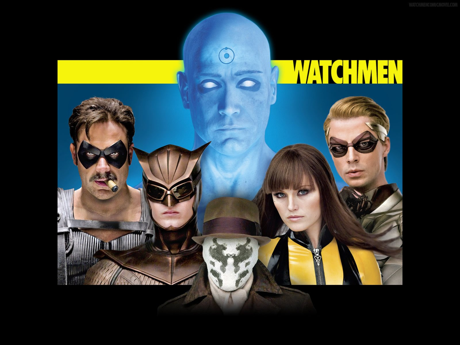 Cast Of Watchmen Wallpaper and Background | 1600x1200 | ID ... Watchmen Characters Silk Spectre