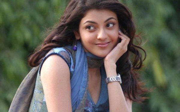 Kändis Kajal Aggarwal Skådespelerskor Indien Bollywood Flicka Woman Face HD Wallpaper | Background Image